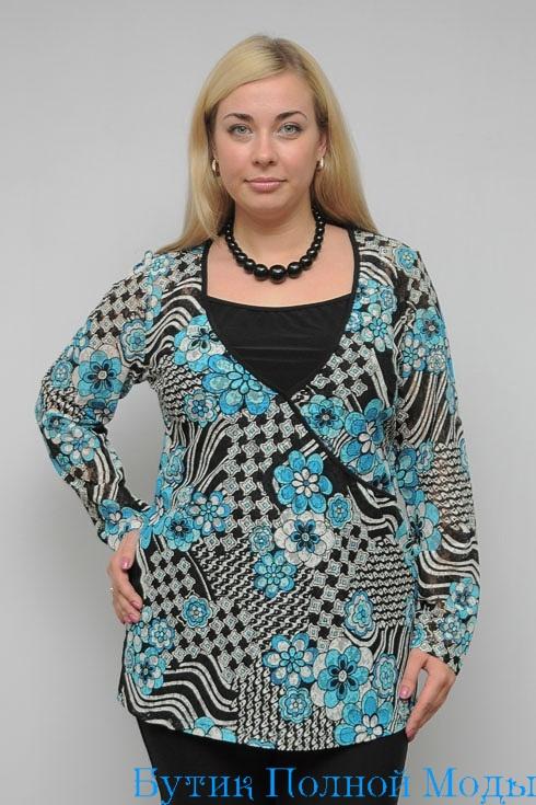 Красивые блузки больших размеров