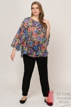 ffb04dc6136 Женские блузки больших размеров для полных женщин и девушек