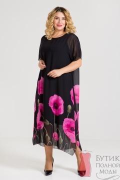 89e960f8ec57e Женские платья больших размеров для полных женщин и девушек