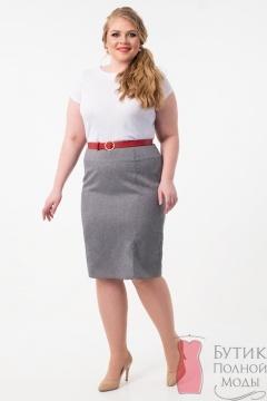 0cd565197d4 Юбки для полных женщин - купить юбки больших размеров в интернет ...