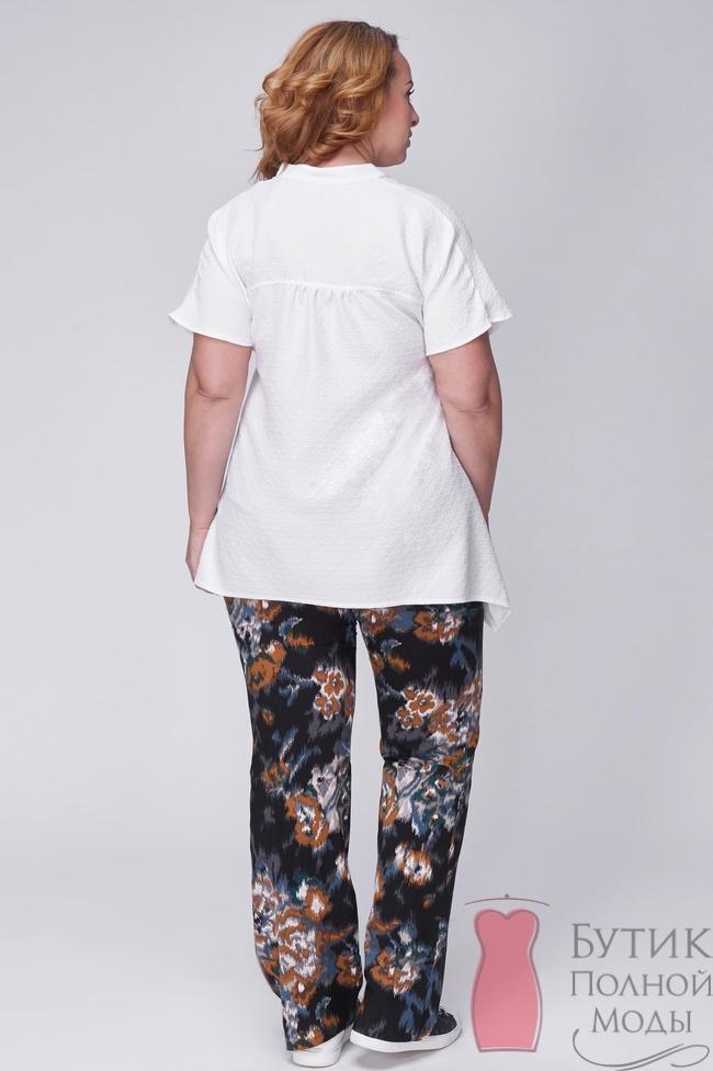 Белая Блузка 56 Размер