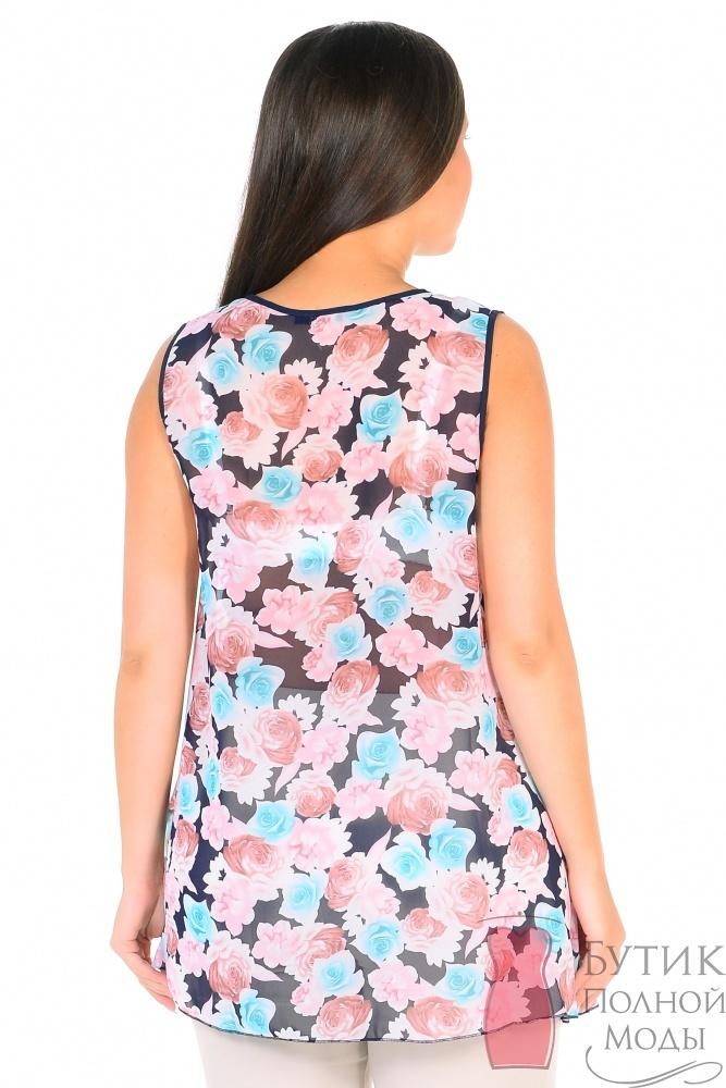 Блузка бирюзового цвета