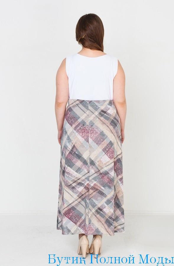 Женские юбки большого размера