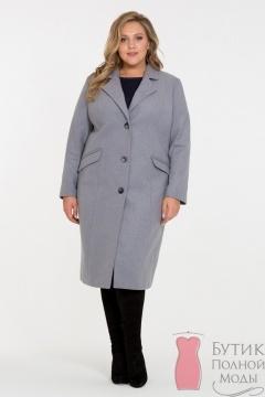 6acb821a968 Женские пальто больших размеров - купить пальто для полных женщин в ...