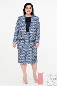 d5333ab87b1 Женские костюмы больших размеров - купить костюмы для полных женщин ...