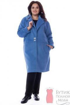 f0f4511aefc Женские пальто больших размеров - купить пальто для полных женщин в ...