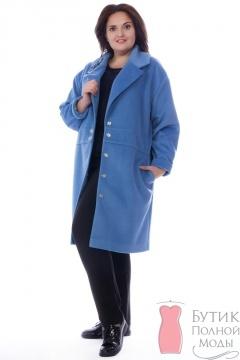 4eac20ecdcd Женские пальто больших размеров - купить пальто для полных женщин в интернет -магазине lady-xl.ru